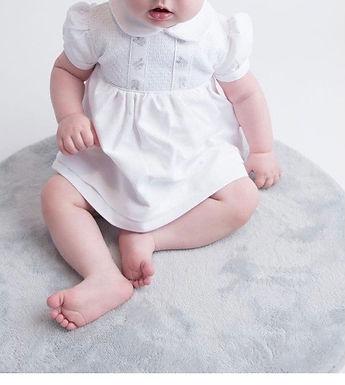 Rosebud cotton dress