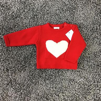 Knitted Heart Jumper