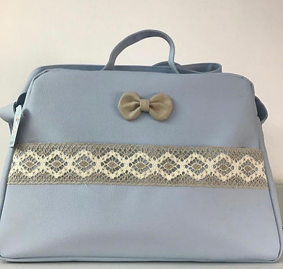 Lace/Bow changing bags