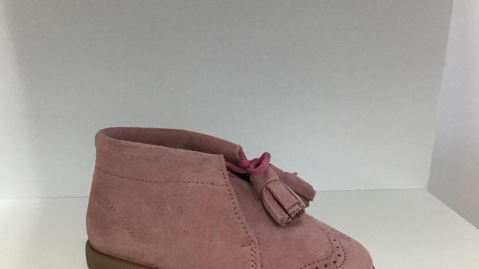 Tassel suede shoe boot