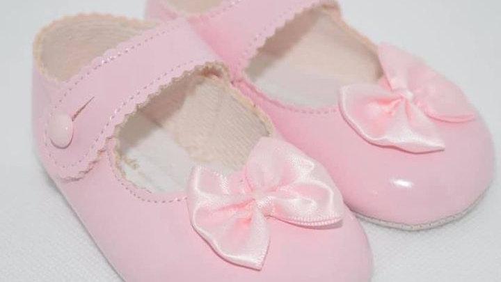 Soft sole  bow shoes