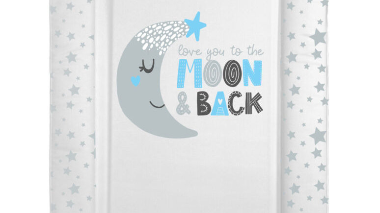 Blue moon & back changing mat