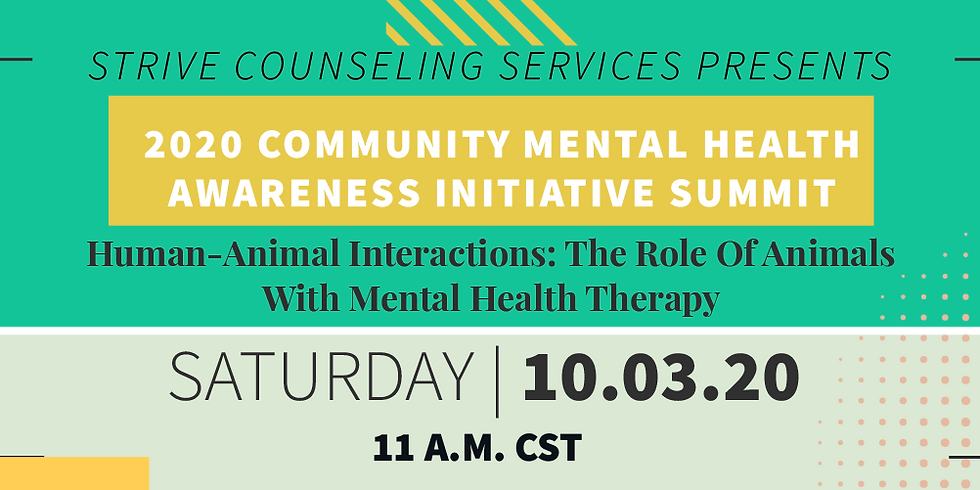 Human-Animal Interactions: The Role Of Animals With Mental Health Therapy