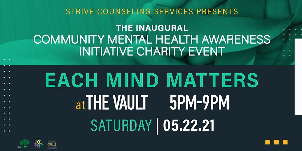 Community Mental Health Awareness Initiative Charity Event