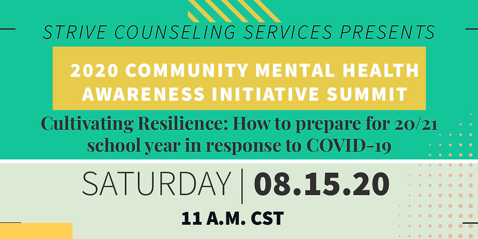 Cultivating Resilience: How to prepare for 20/21 school year in response to COVID-19