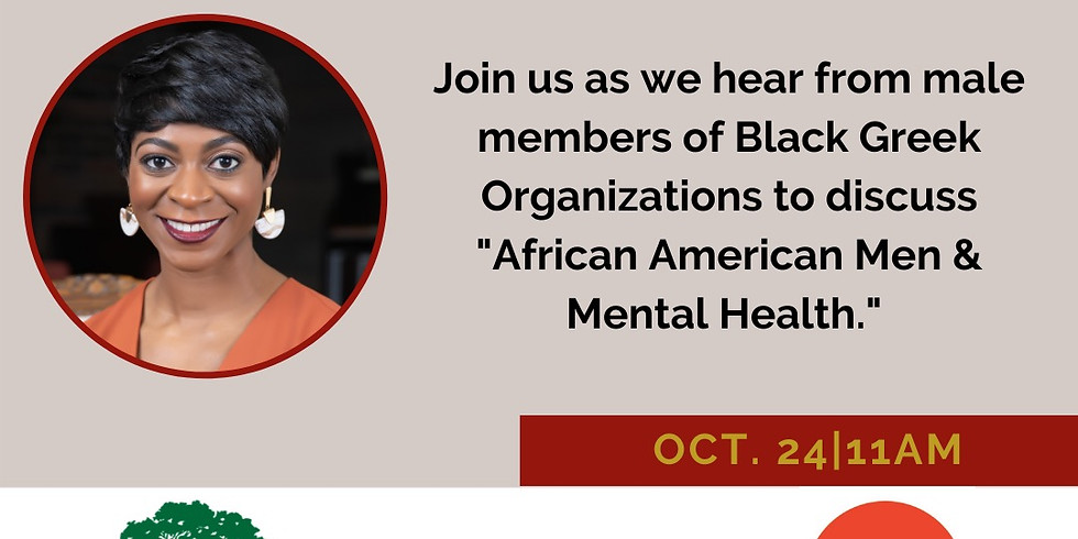 """Divine 9 Panel Discussion """"African American Men & Mental Health"""""""