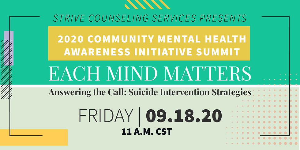 Answering The Call: Suicide Intervention Strategies