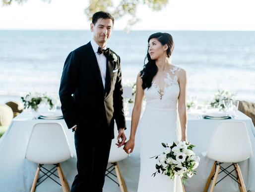 Black Tie Wedding on Maui