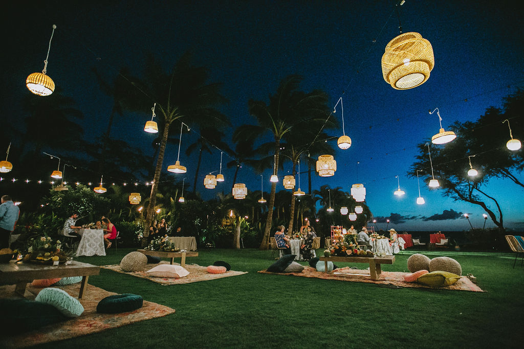 Hawaii Luau Wedding