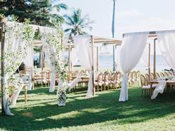 Custom Dining Canopy Hawaii