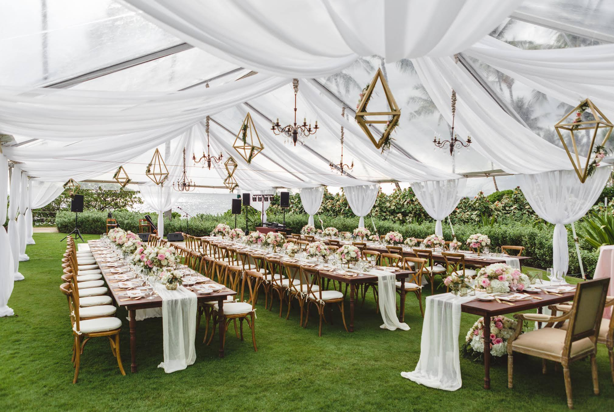 Hawaii Wedding Reception
