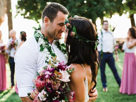 Nina+Ben's Aloha Wedding