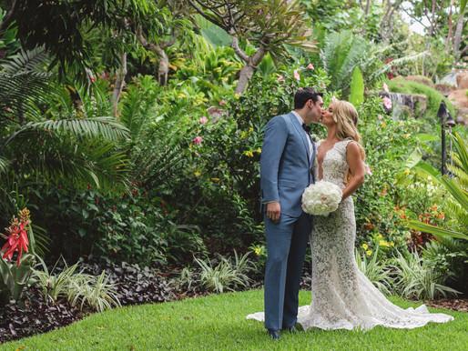 Carley+Matt- Married on Lanai