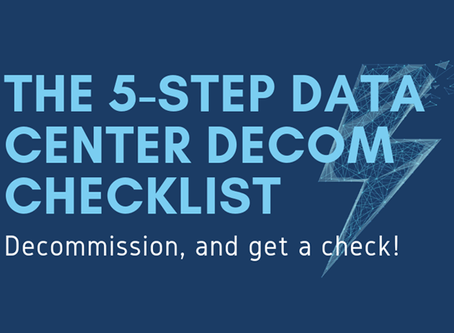 Your Five-Step, ROI-Focused Data Center Decommissioning Checklist
