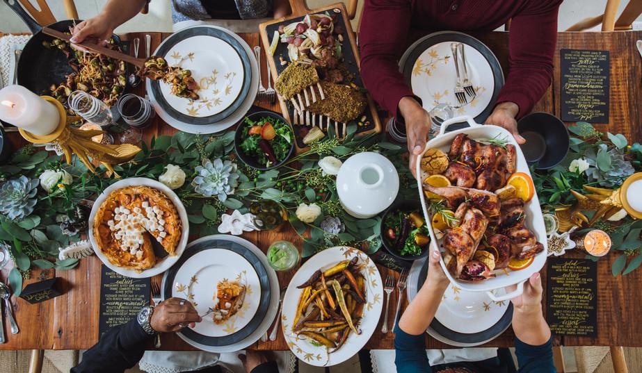 Tasha Raylene | MOXIEMOXIE | Thanksgiving Party