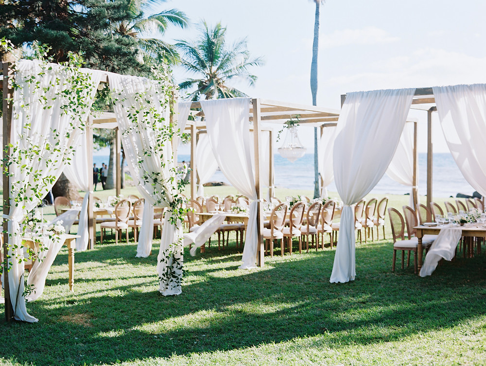 Custom wedding design Hawaii