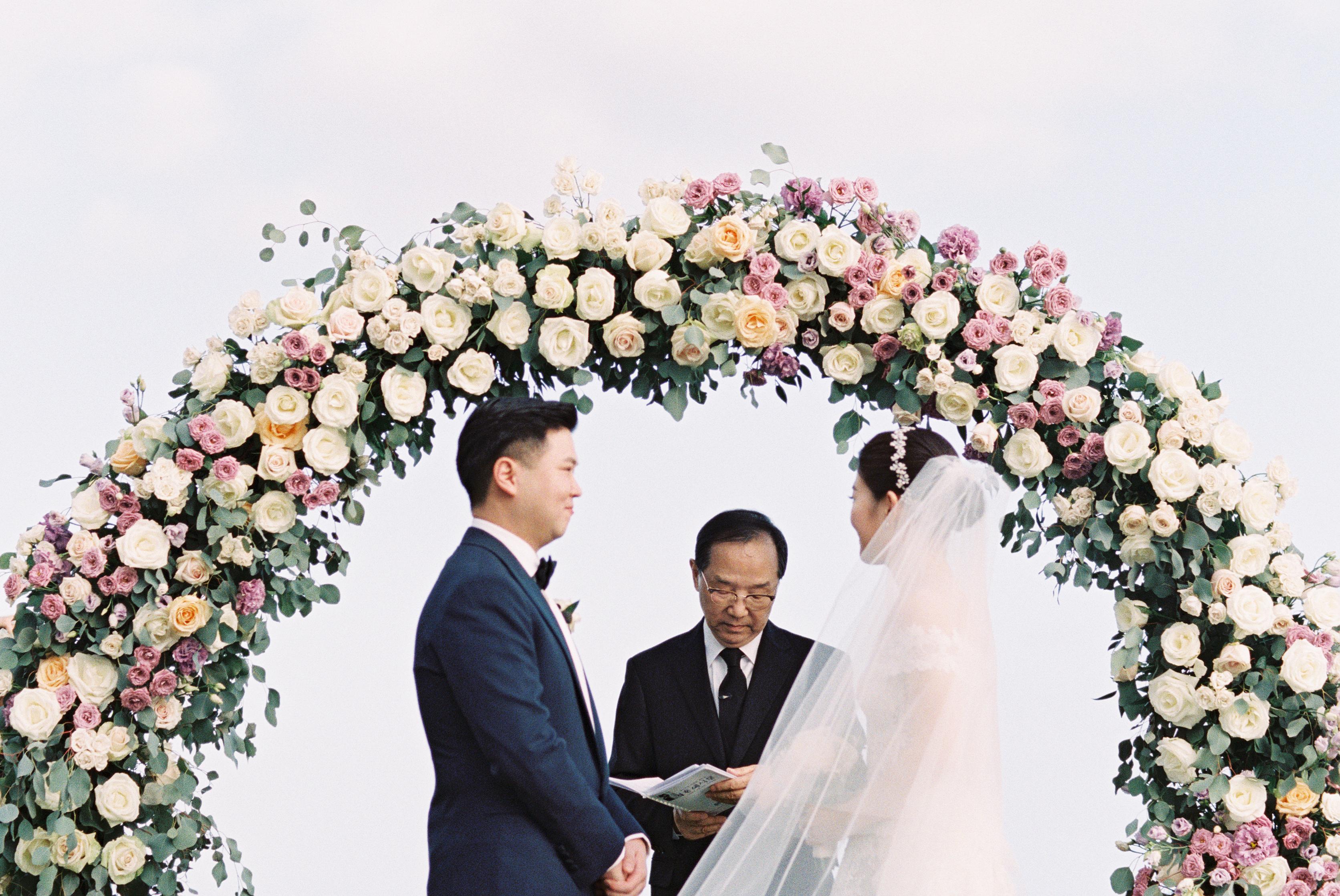 Custom Floral Arch