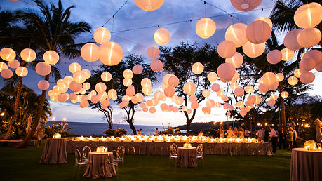 Lantern Event Lighting | Inspiration Events Hawaii