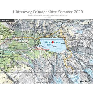 Umleitung Sperrgebiet Spitzer Stein 2020