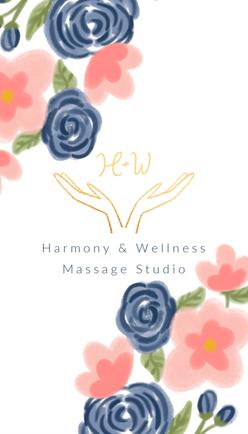 Harmony & Wellness Massage Studio Busine