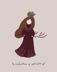 The enchantress of wild berries