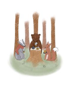 Woodland Autumn Tea Party