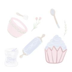 Pastel baking