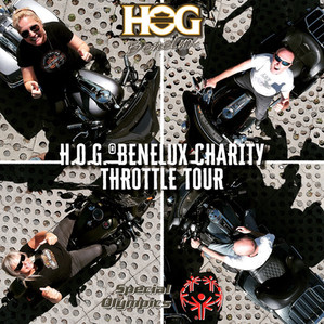H.O.G. Benelux National Officers kickoff the Throttle Tour