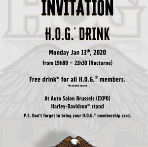 H.O.G.® Benelux drink