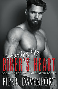 Stealing the Biker's Heart - Piper Daven