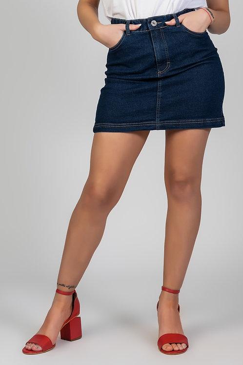 Falda Elastic Blue