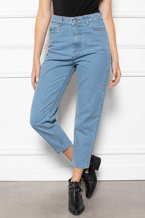 Jeans Mom Fit Light Blue
