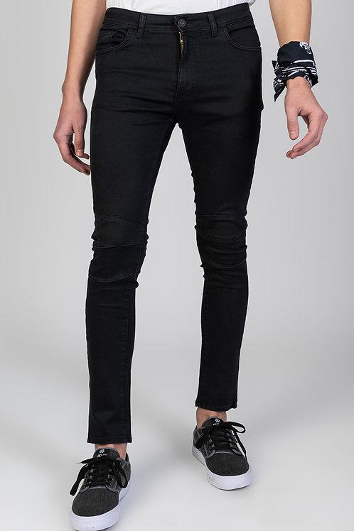 Jeans Biker Black Sting