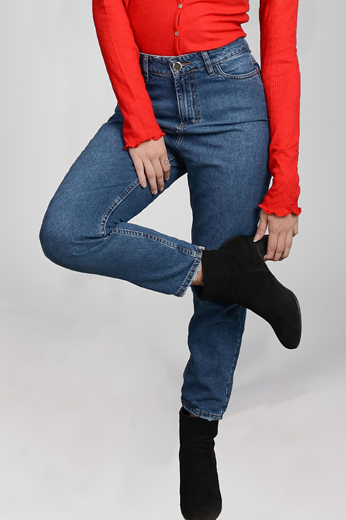 Jeans Mom Blue