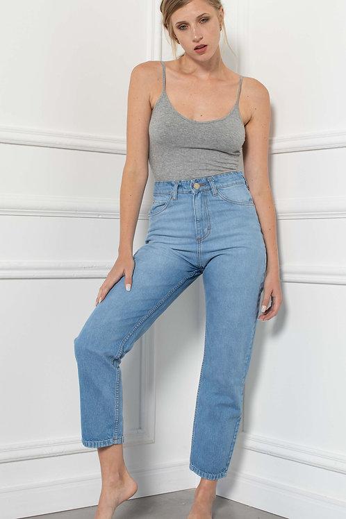 Jeans Straight Light Blue