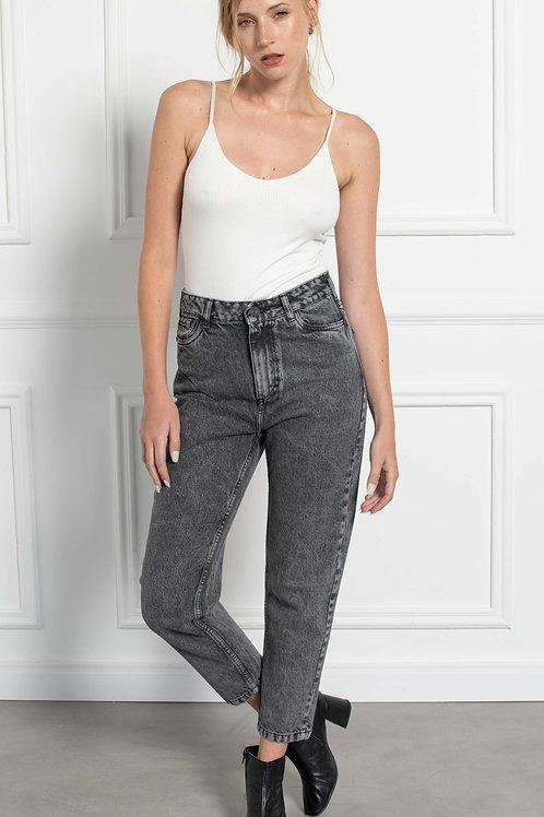 Jeans Mom Fit Black