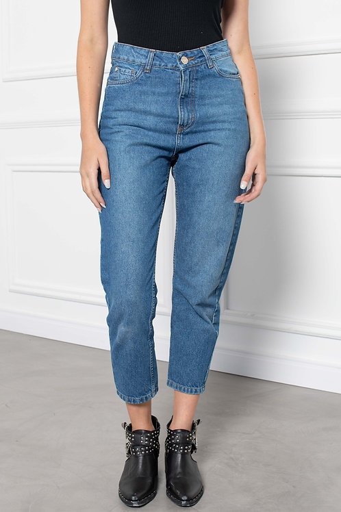 Jeans Mom Fit Intense Blue