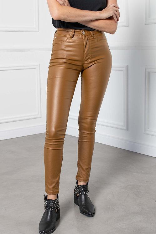Pantalón Skinny Engomado Caramel