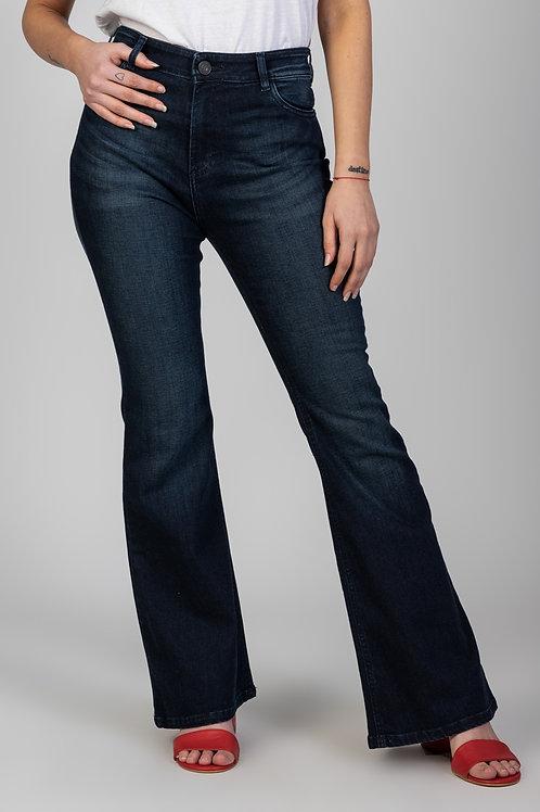 Jeans Flare Dark Blue