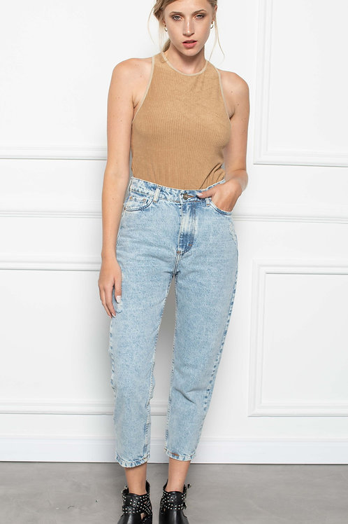 Jeans Mom Fit Cloudy