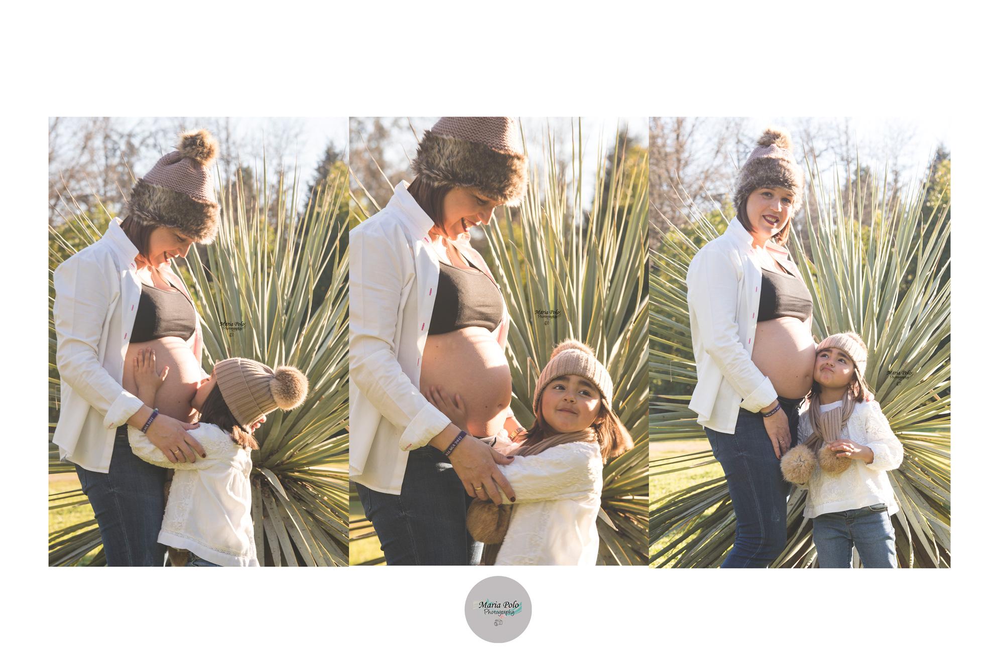 Embarazo madre e hija
