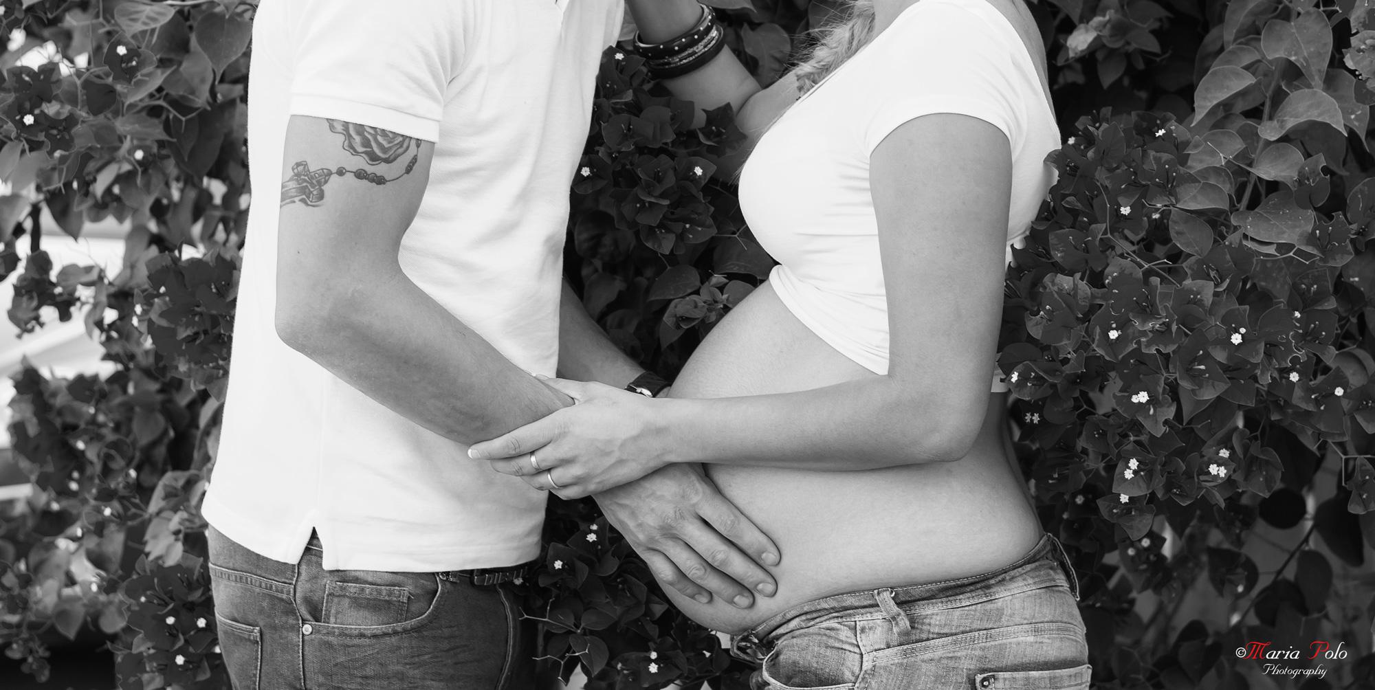 Embarazo Exterior B&N