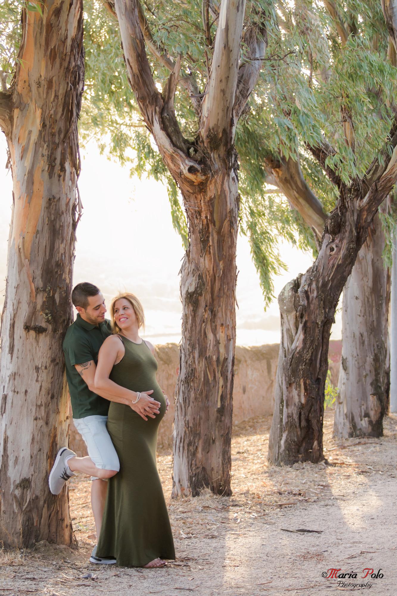 Embarazo Exterior Pareja