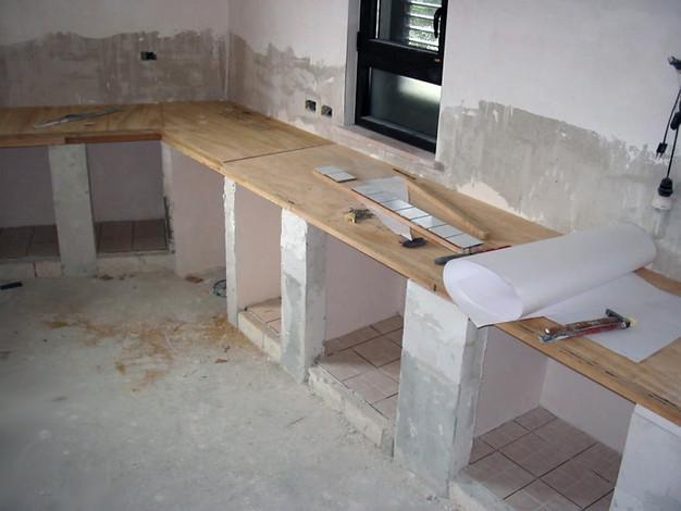 Arredamento: Realizzare Una cucina in muratura | AL C.B Di ...