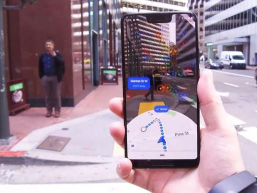 Google Maps: la realtà aumentata migliora la navigazione