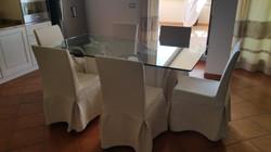 Tavolo Piano cristallo