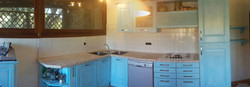 Lavoro di verniciatura cucina