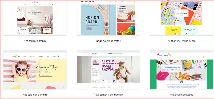Esempio e-commerce 4