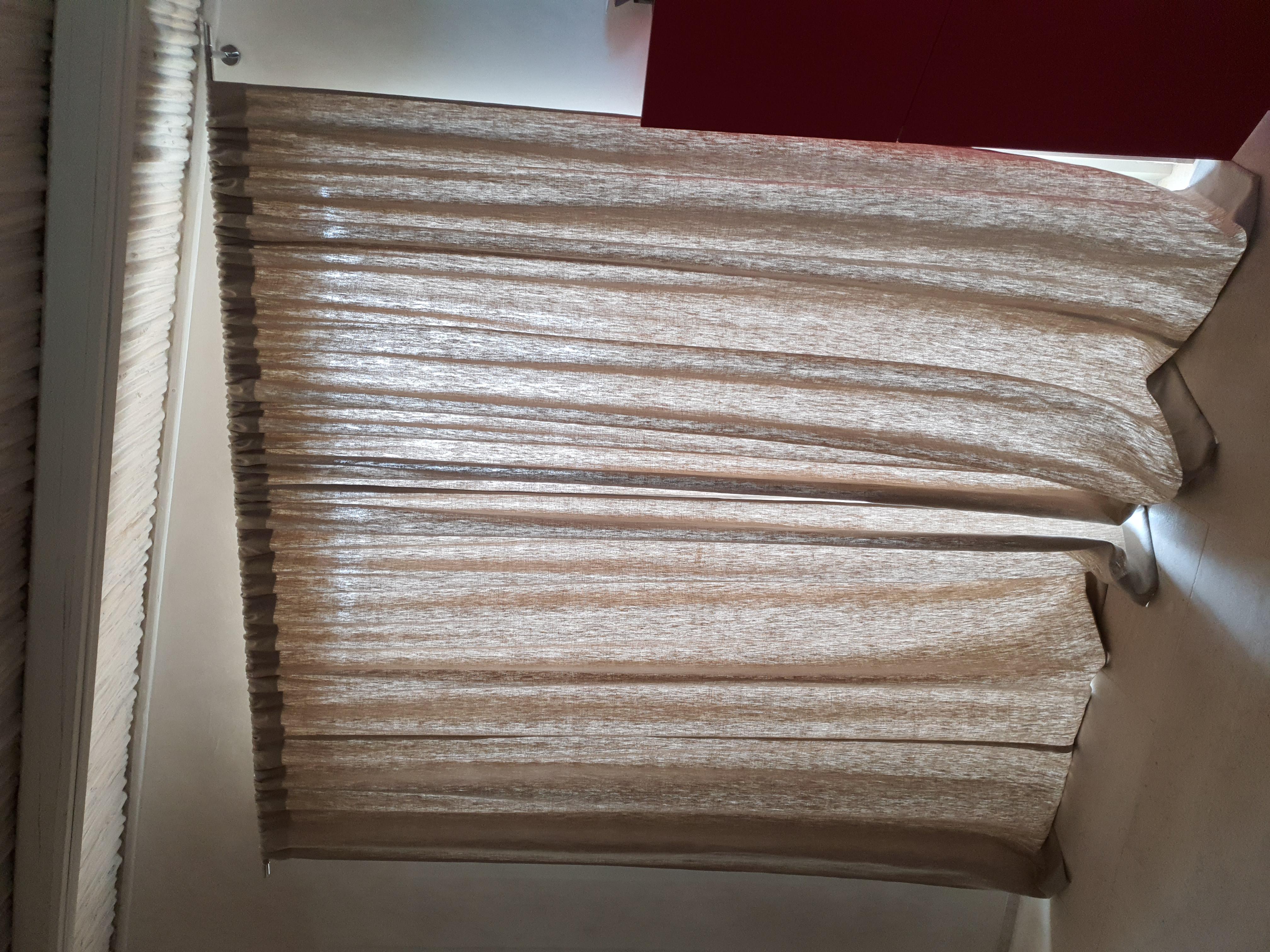 Tenda tessuto lino 100%