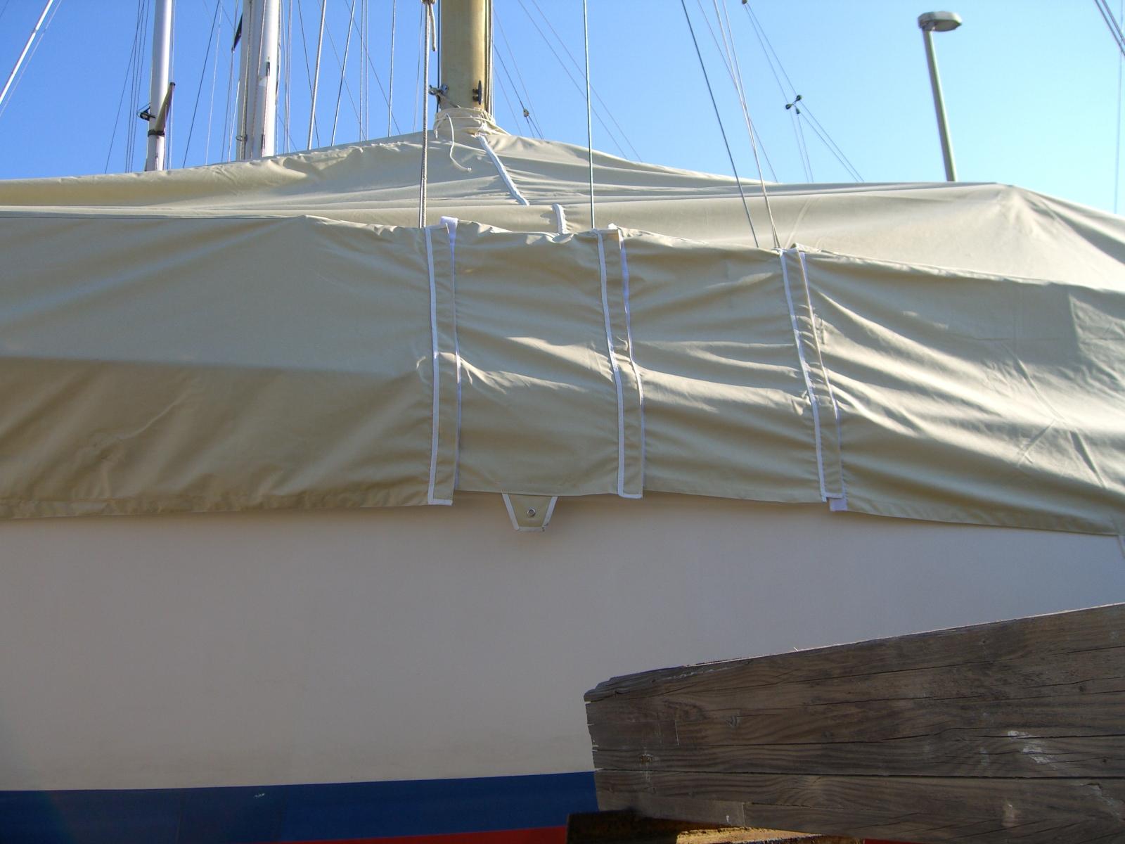 Telo copertura Barca Vela